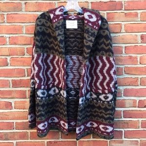 Beautiful Hooded Abercrombie & Fitch Knit Shrug